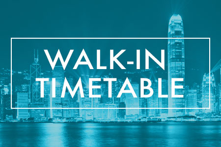 Walk-in Timetable